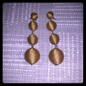 Gold BaubleBar earrings